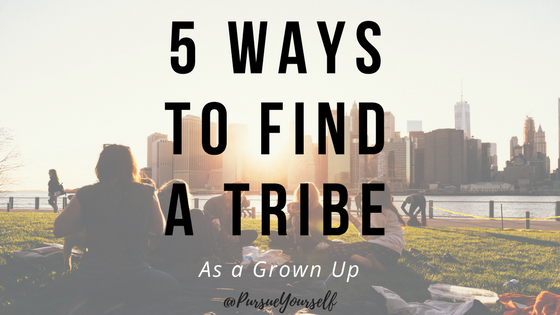 5 ways to find a tribe
