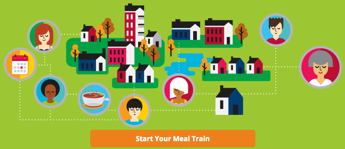 start a meal train for someone in need